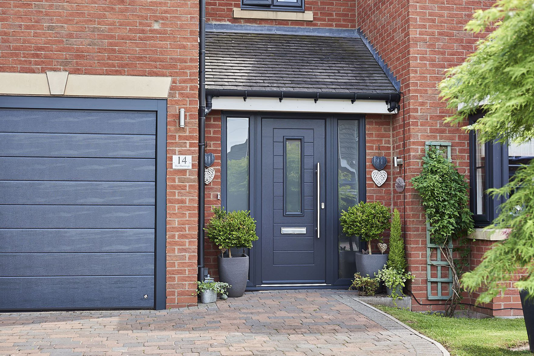 Grey Composite Doors