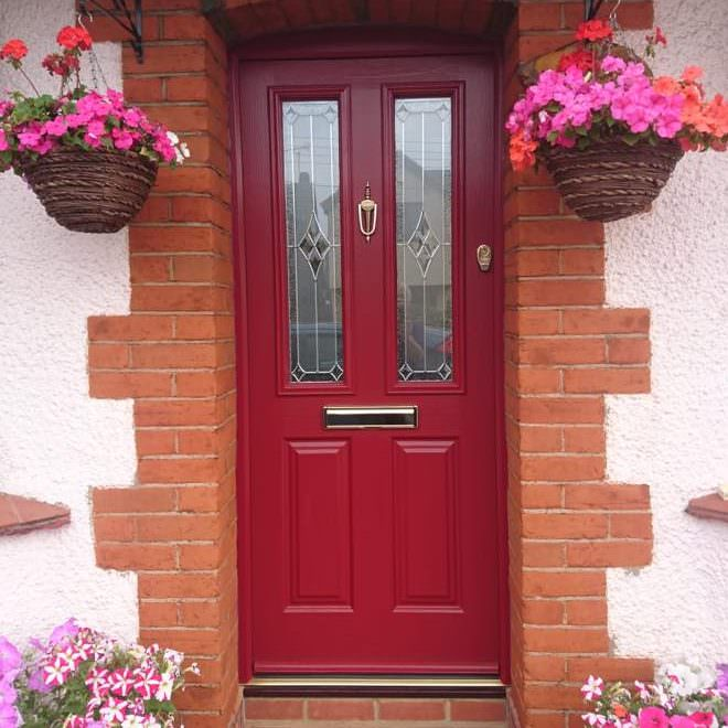Red Composite Door Timeline Image