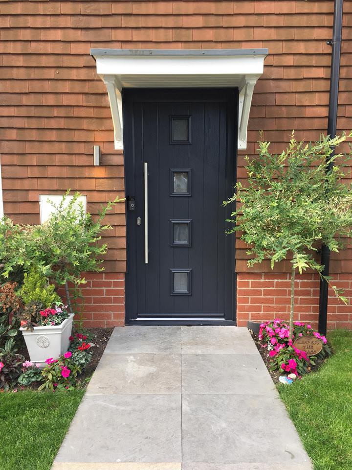 composite doors vs upvc doors cost