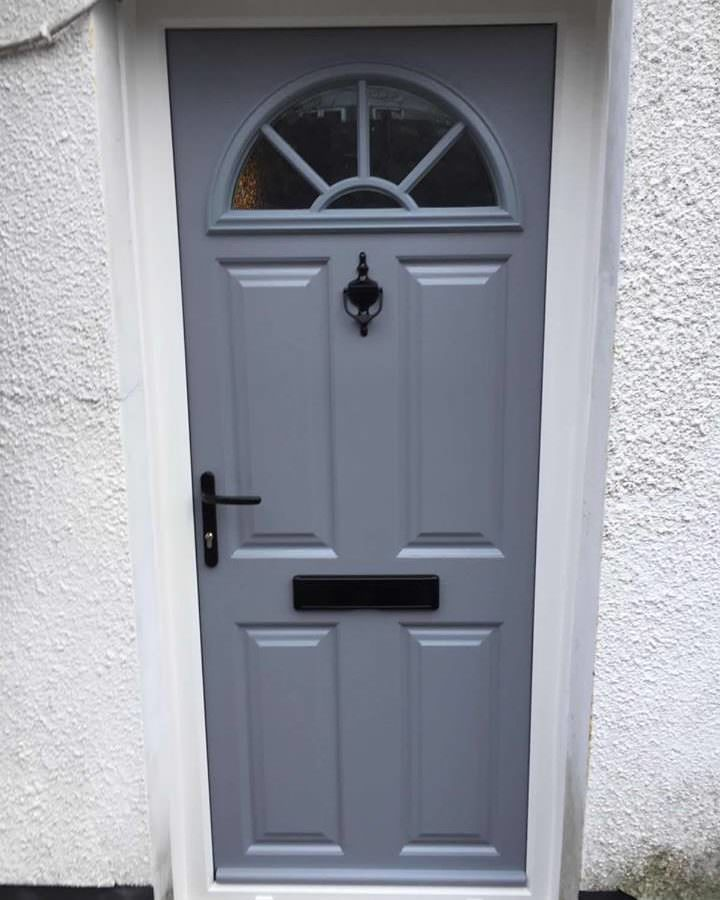 Grey Composite Doors Cardiff