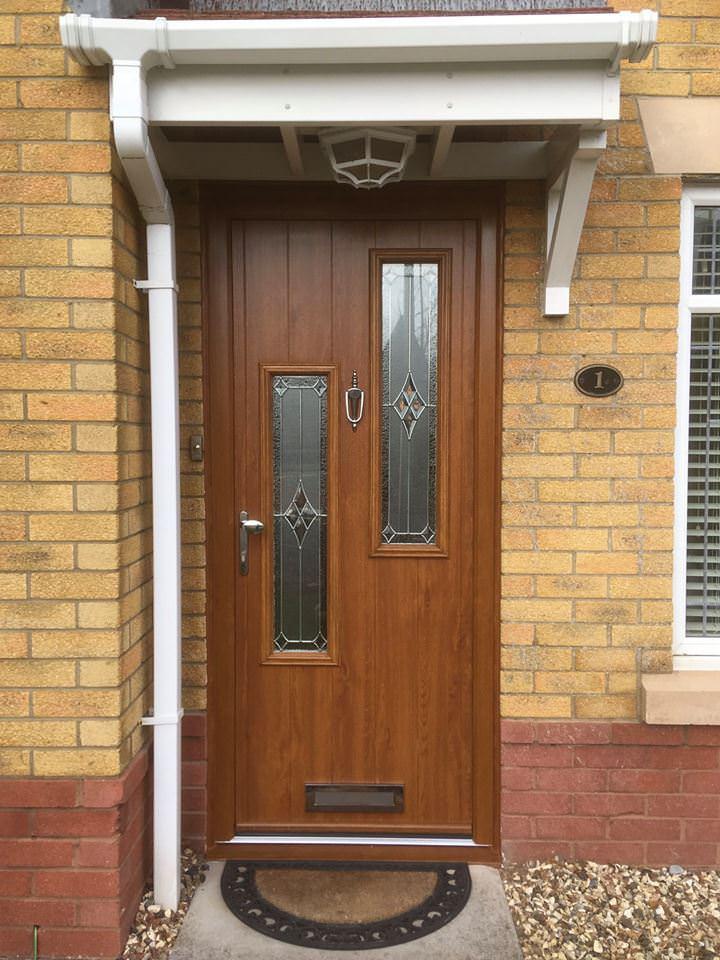 Brown Composite Door