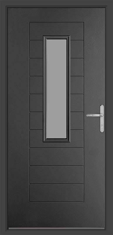 Anthracite Grey Urban Collection Composite Door