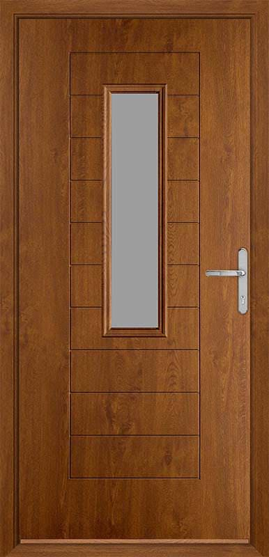 Golden Oak Urban Collection Composite Door