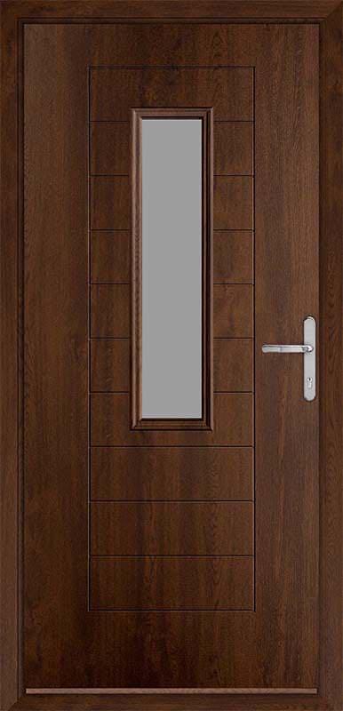 Walnut Urban Collection Composite Door