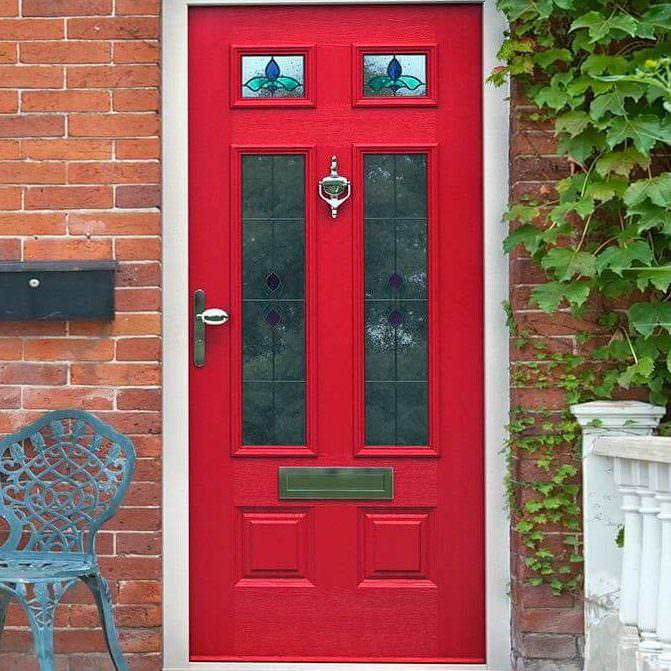 rich red composite door