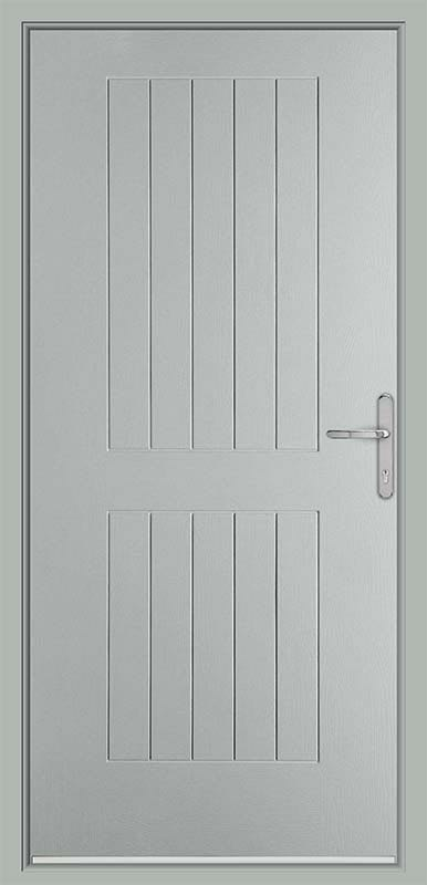Pearl Grey Country Collection Composite Door