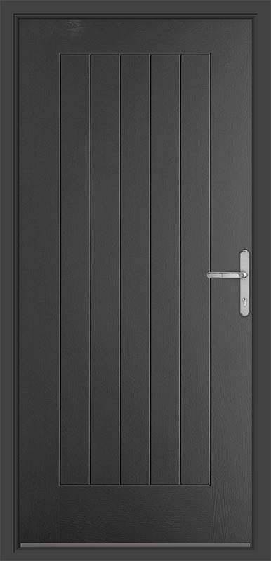 Anthracite Grey Country Collection Composite Door