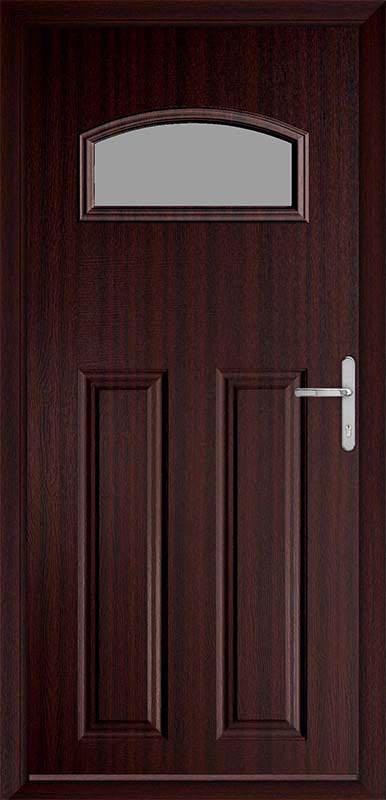 Mahogany Classic Collection Composite Door