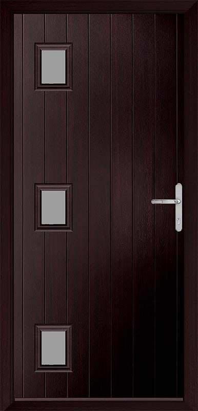 Rosewood Urban Collection Composite Door
