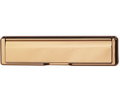 Classic Letterplate - Bronze
