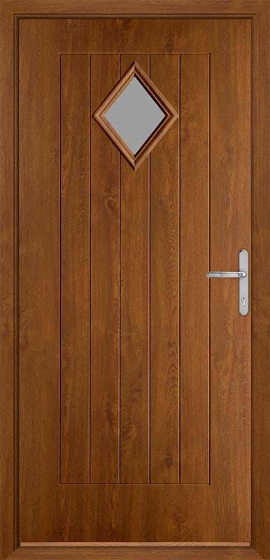 Golden Oak Country Collection Composite Door