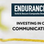 Communication Is Key at Endurance