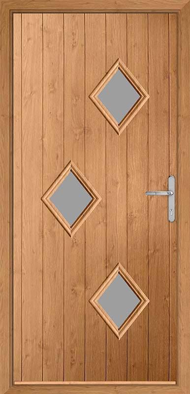 Irish Oak Urban Collection Composite Door
