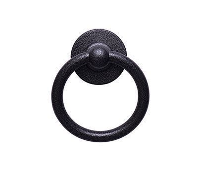 Heritage Bullring Knocker - Antique Black