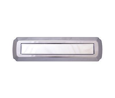 Heritage Letterplate - Chrome