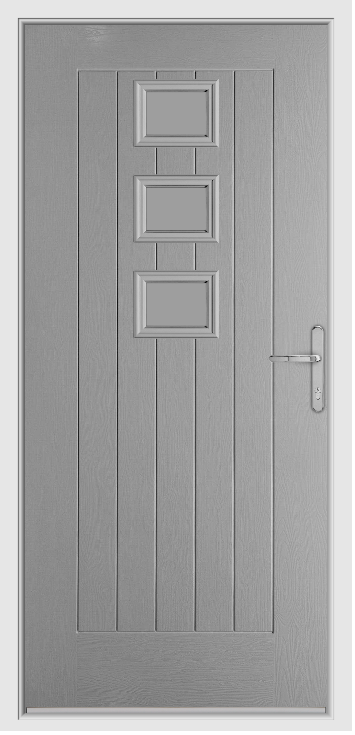 Elephant Grey Country Collection Composite Door