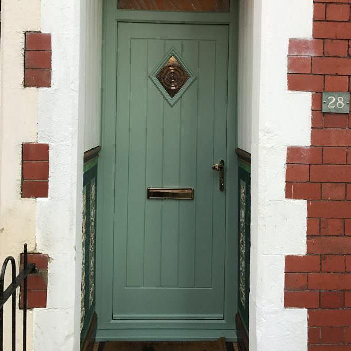 separation shoes d0a61 6ea8f Green Composite Door | Composite Doors Colours | Endurance®