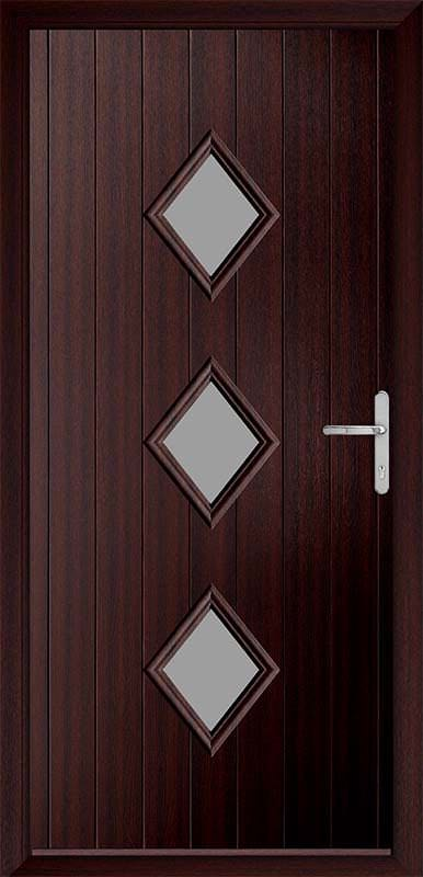 Mahogany Urban Collection Composite Door