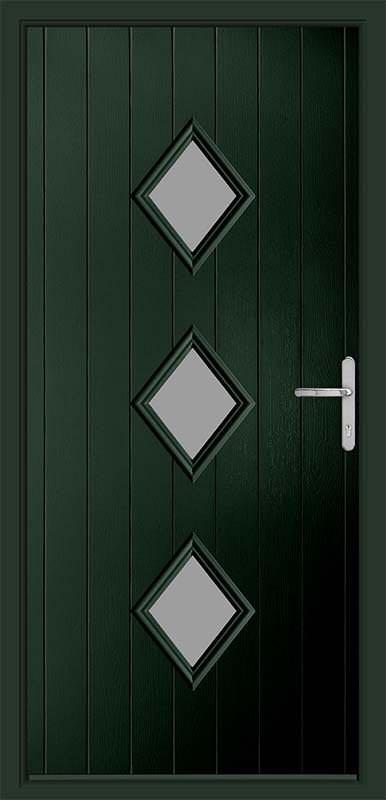 Racing Green Urban Collection Composite Door