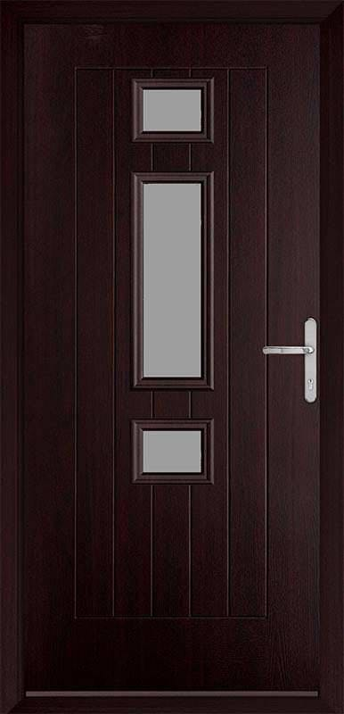 Rosewood Country Collection Composite Door