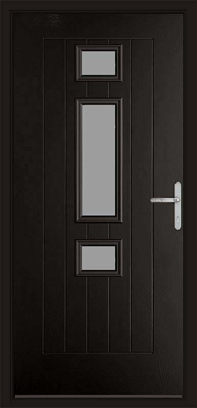 Black Hub Black Composite Door Composite Door