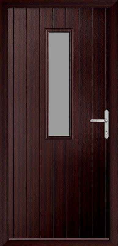 Mahogany Country Collection Composite Door