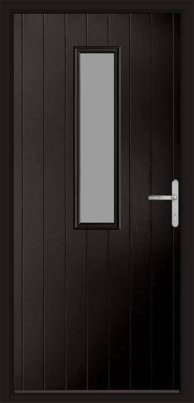 Schwarz Braun Black Country Collection Composite Door