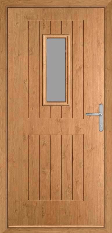 Irish Oak Country Collection Composite Door