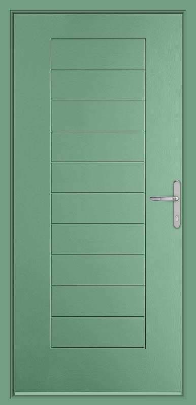 Chartwell Green Urban Collection Composite Door