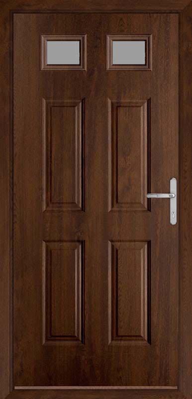 Walnut Classic Collection Composite Door