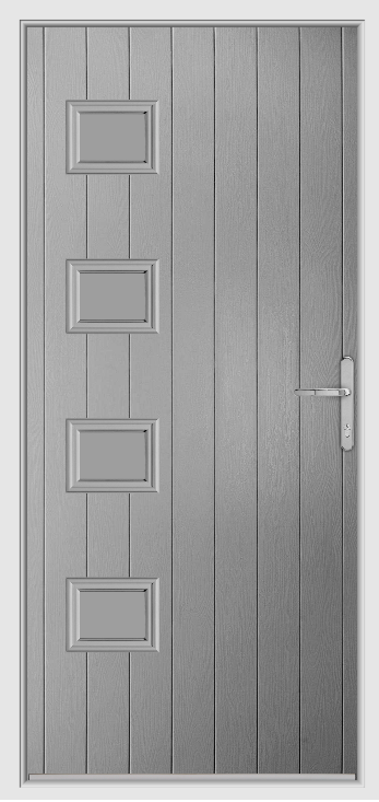 Elephant Grey Urban Collection Composite Door