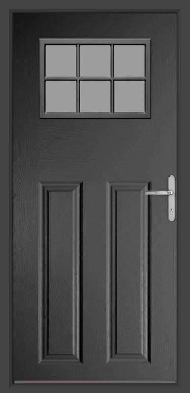Anthracite Grey Classic Collection Composite Door
