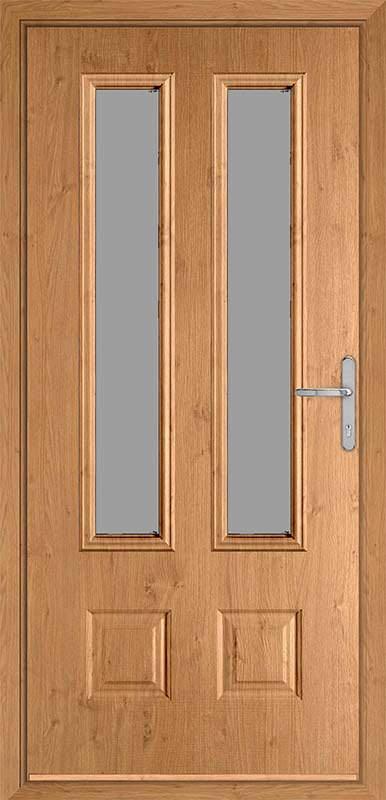Irish Oak Classic Collection Composite Door