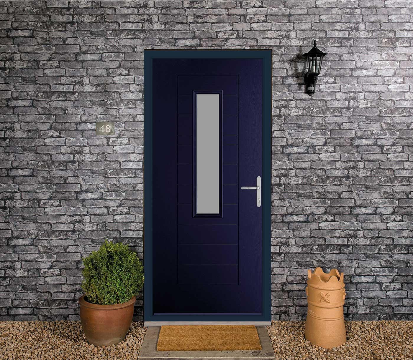 blue composite doors cost
