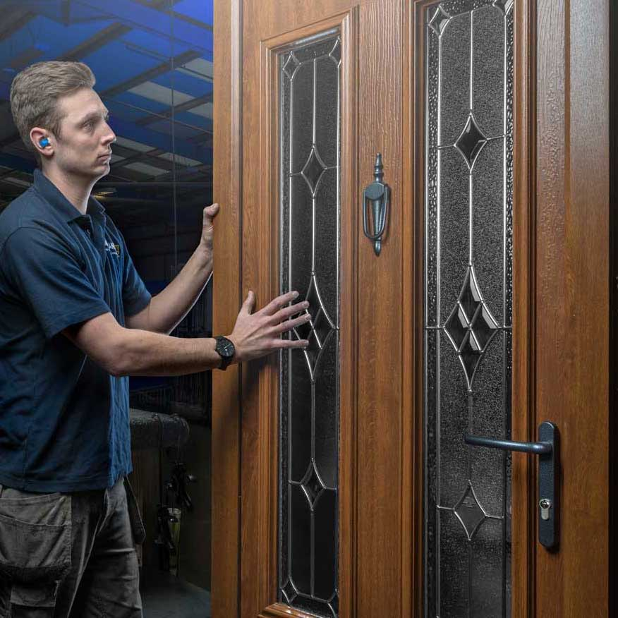 How Are Composite Doors Made?