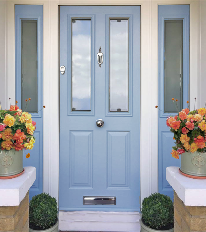 Blue Composite Door Timeline Image