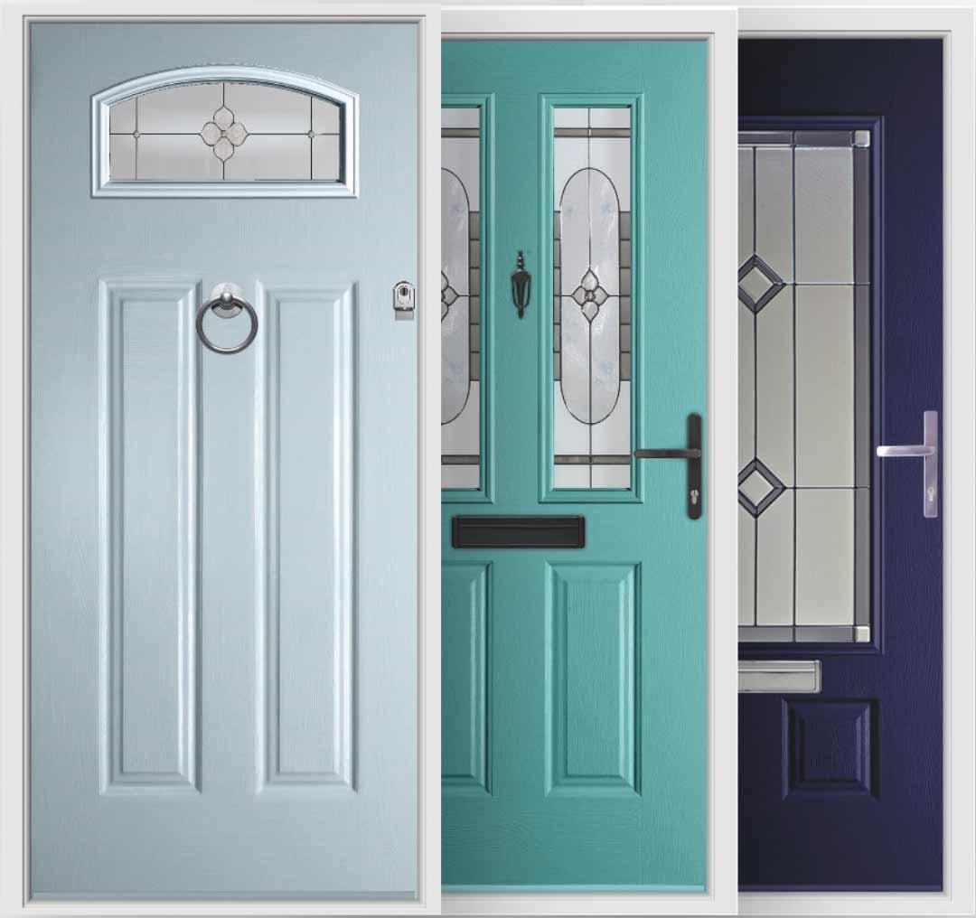 blue composite door palette