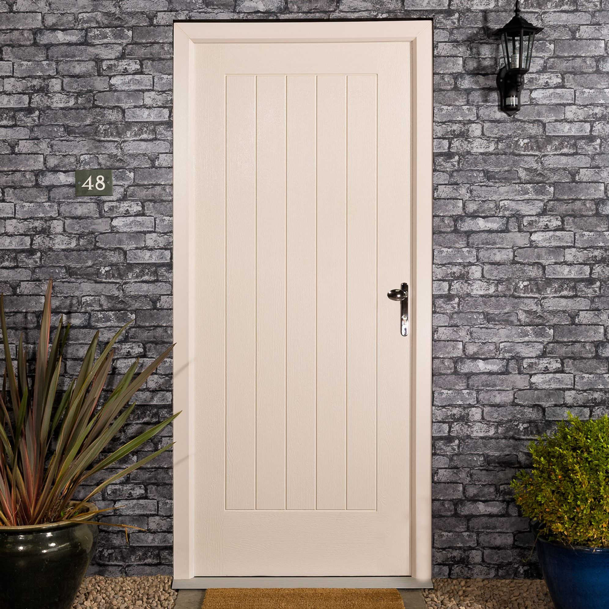 White Composite Door Timeline Image
