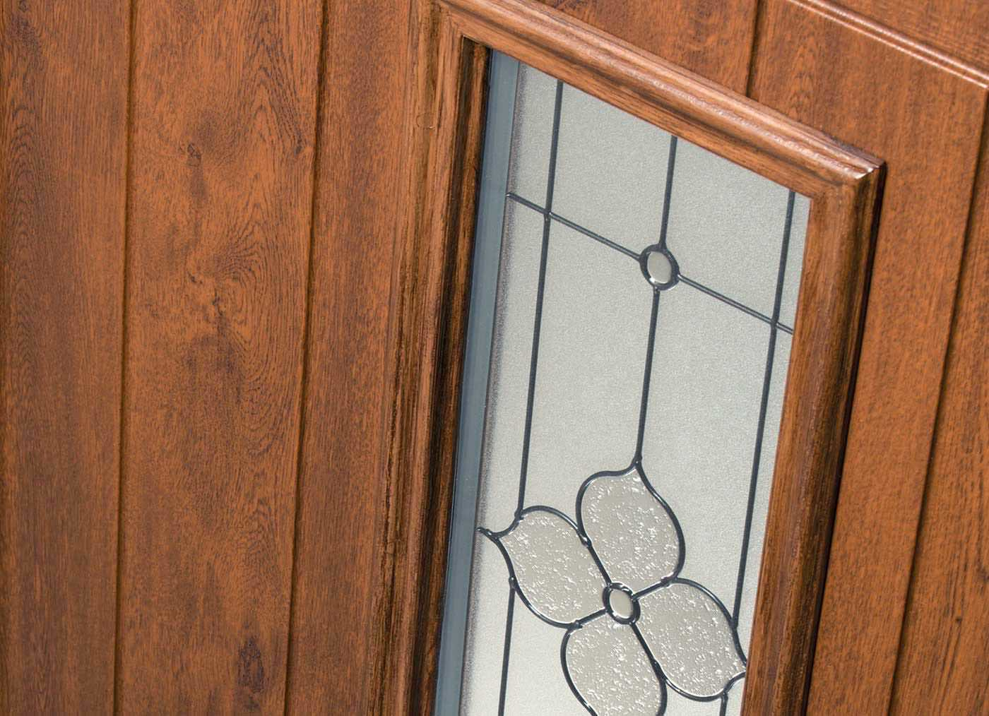 Brown & Woodgrain Composite Door Timeline Image