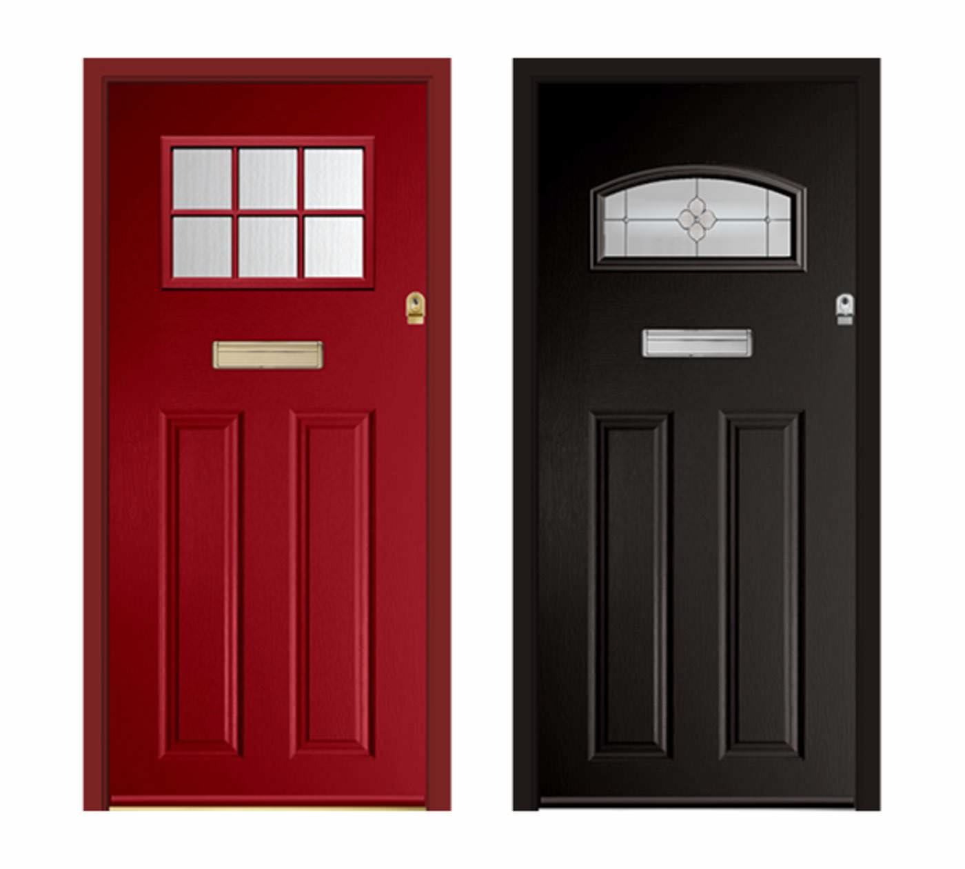 Composite Doors VS uPVC Doors Timeline Image