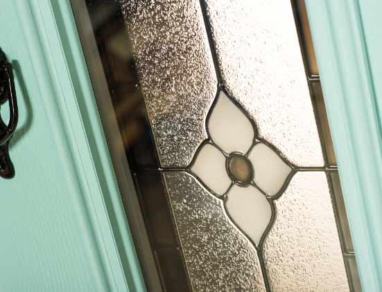 blue composite door accessories