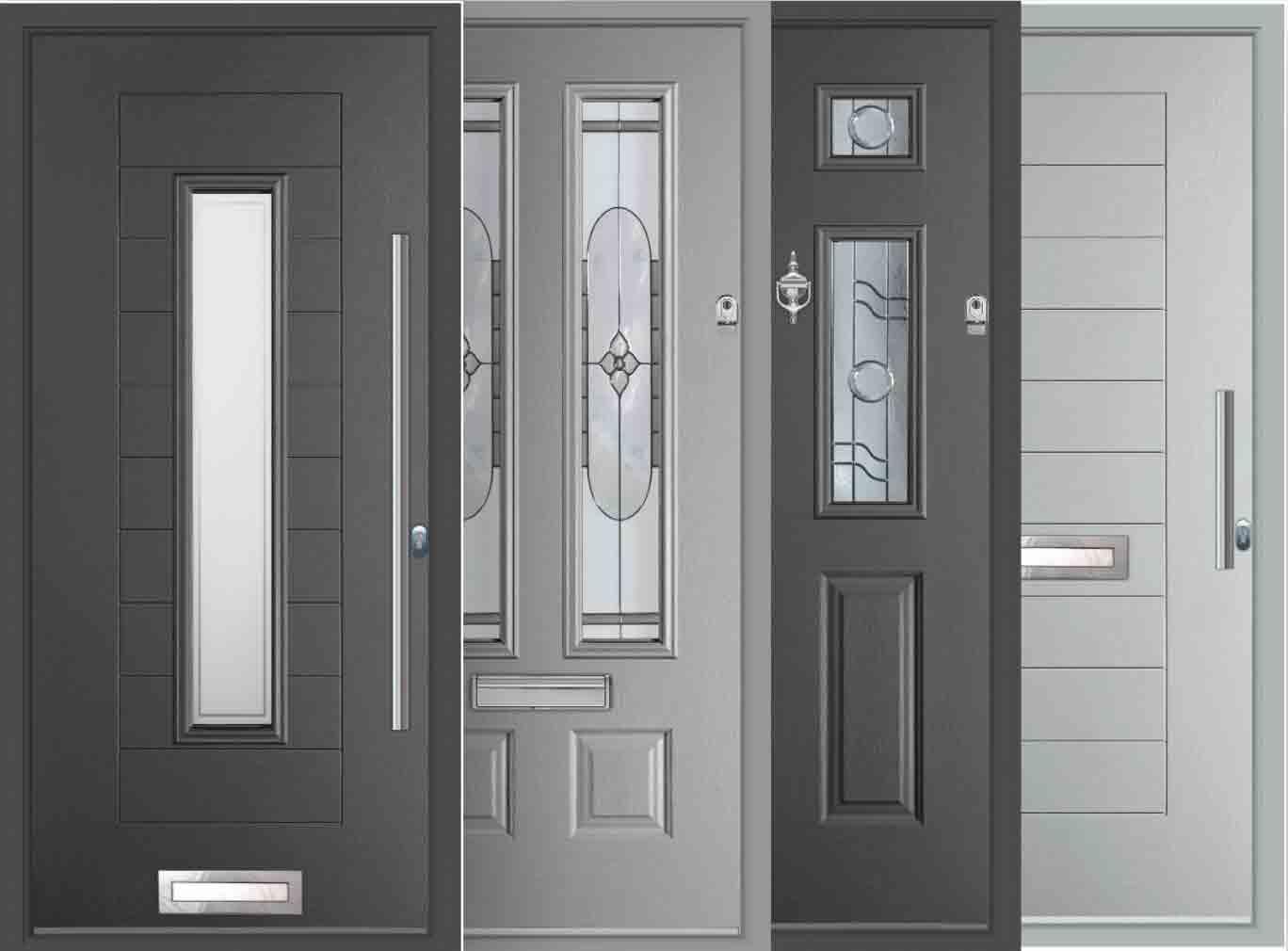 grey composite door range