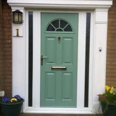 Green Composite Door Timeline Image