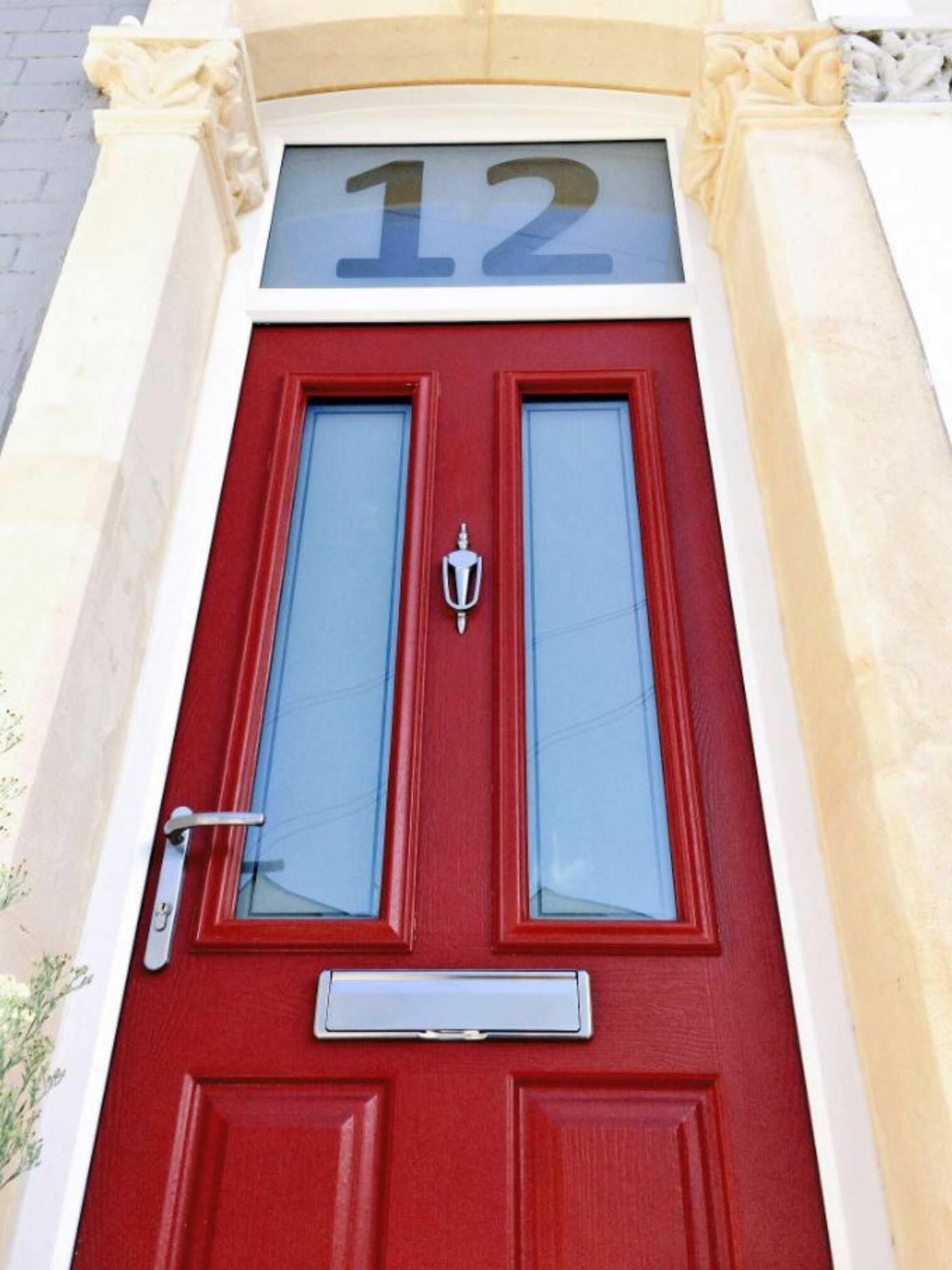 Red Composite Doors Rich Red Composite Front Doors Endurance
