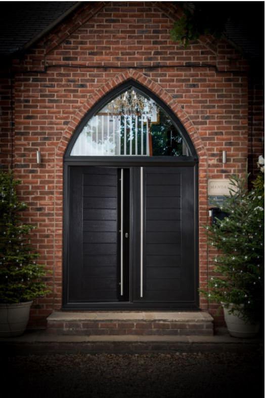 Sienna Brown composite door