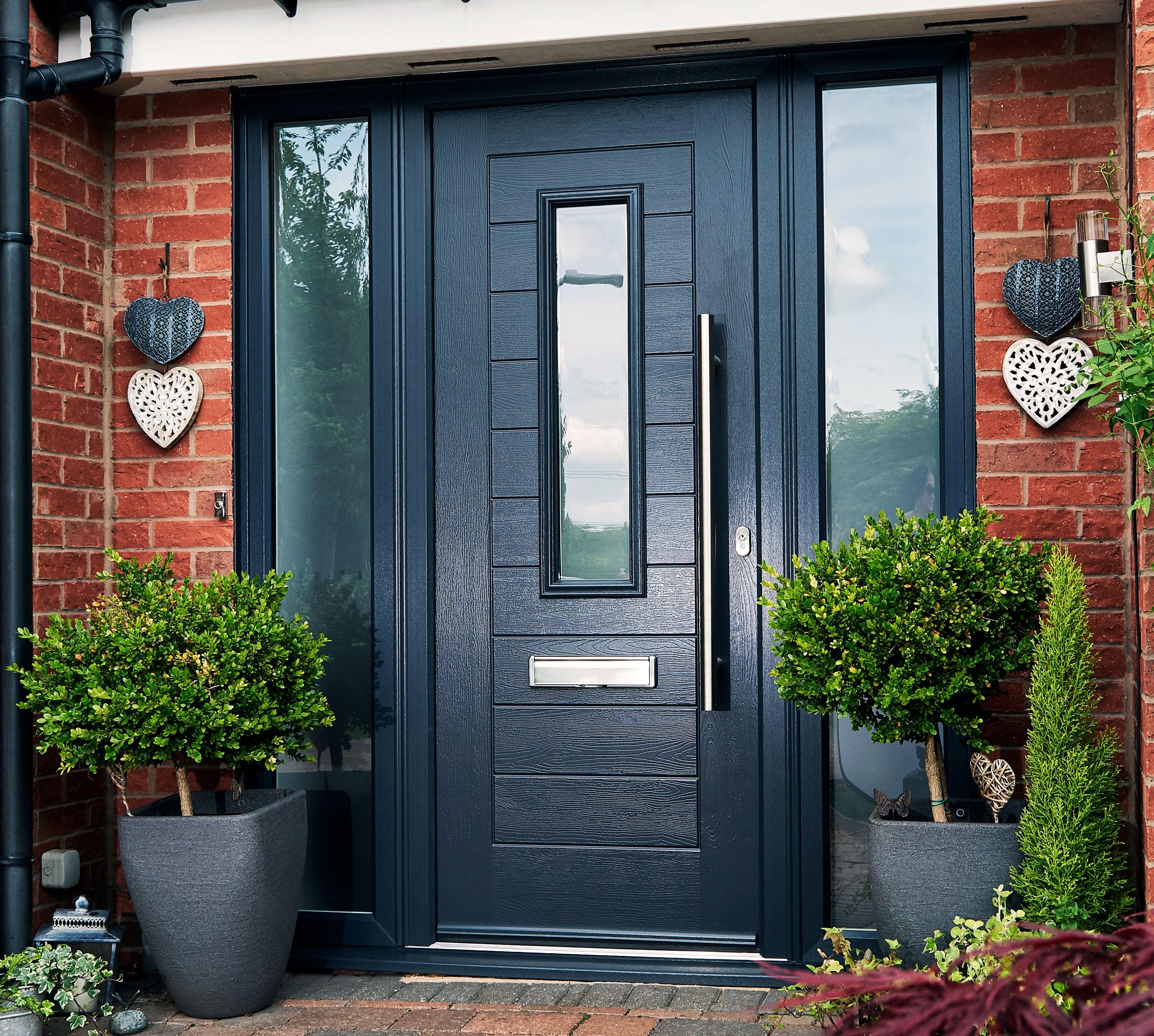 Image of: Composite Doors With Side Panels Endurance Bespoke Composite Doors