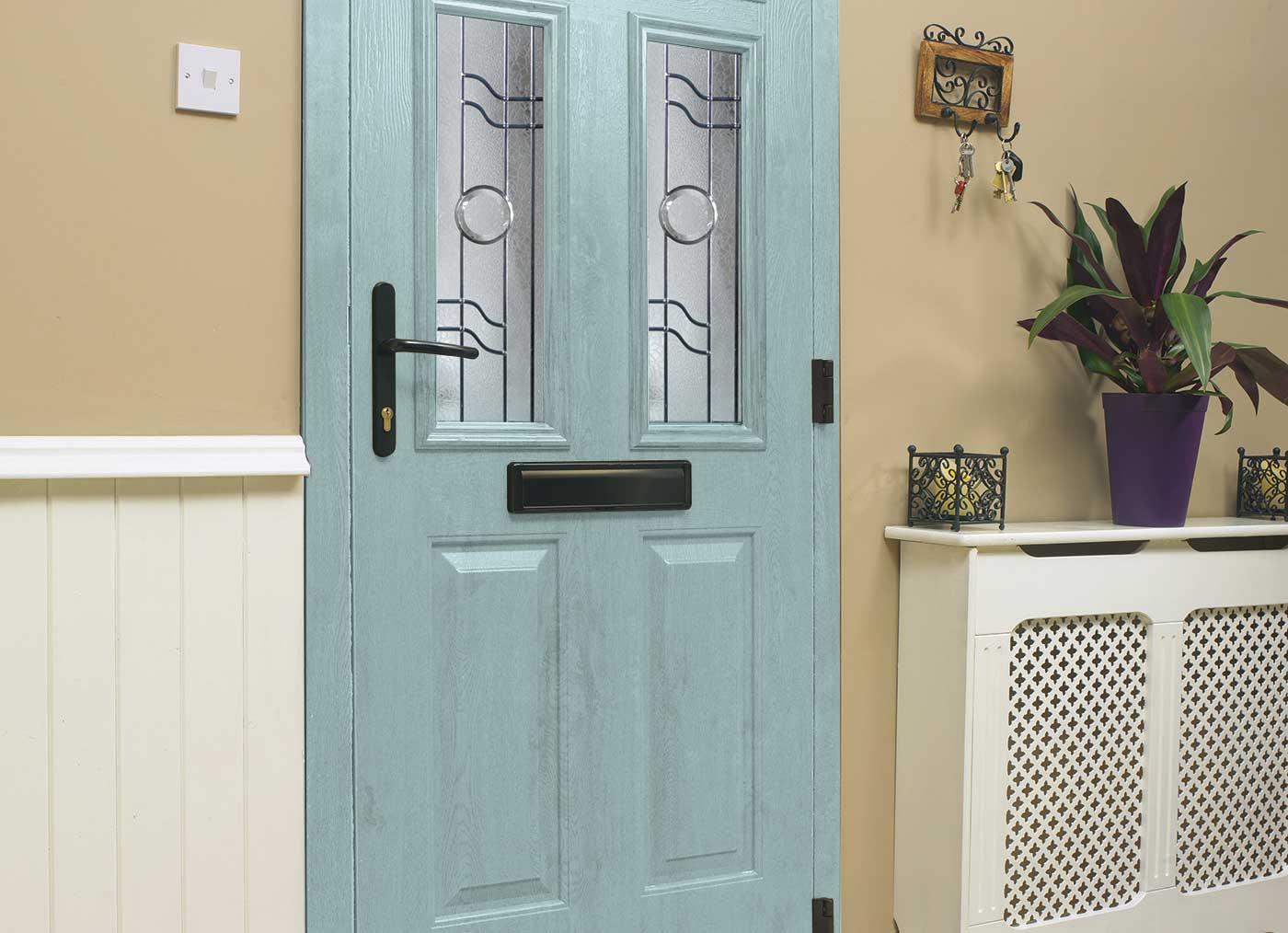 Blue Composite Door Timeline Image