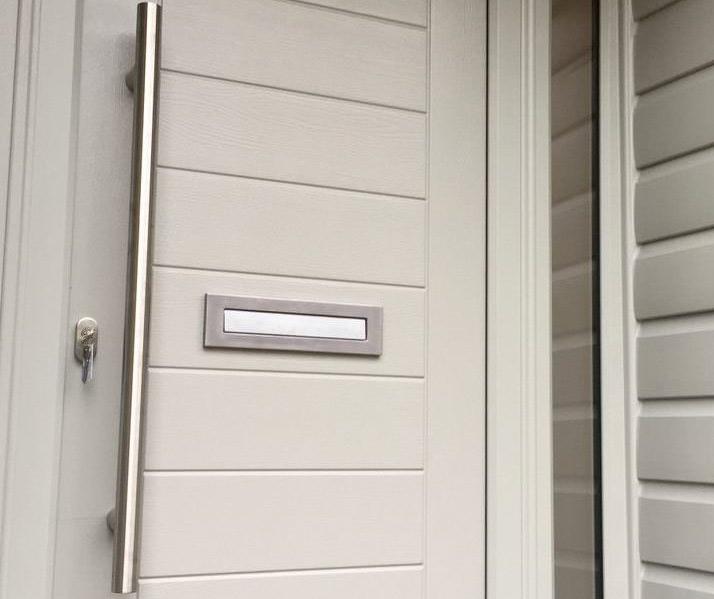 white composite door accessories